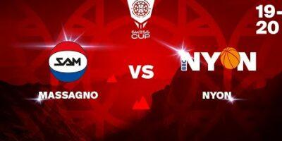COUPE SUISSE M - Day 1-8: MASSAGNO vs. NYON