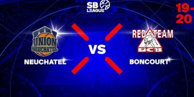 SB League - Day 8: NEUCHATEL vs. BONCOURT