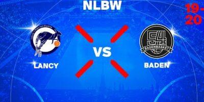 NLB Women - Day 10: LANCY vs. BADEN