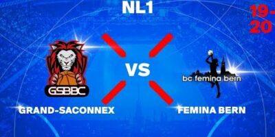 NL1W – GRAND-SACONNEX vs. FEMINA BERN
