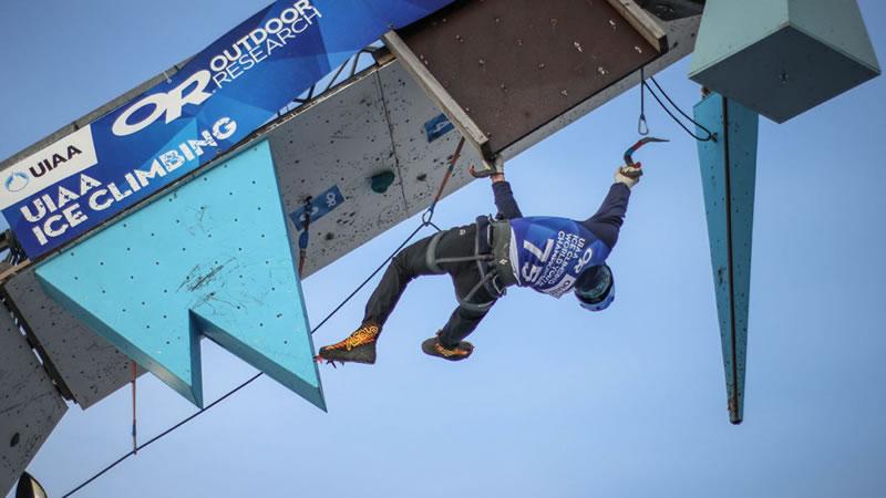UIAA Ice Climbing European Cup #1, Bern BE