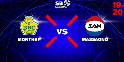 SB League - Day 9: MONTHEY vs. MASSAGNO