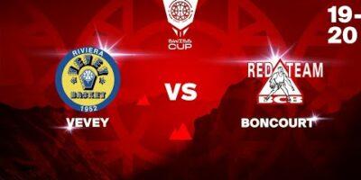 COUPE SUISSE M - Day 1-8: VEVEY vs. BONCOURT