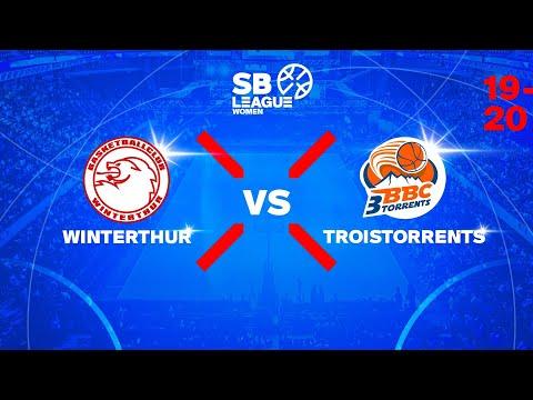 SB League Women – Day 1: WINTERTHUR vs. TROISTORRENTS