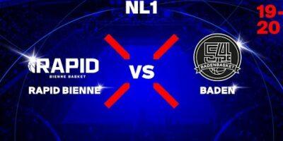 NL1M - Day 10: BIENNE vs. BADEN