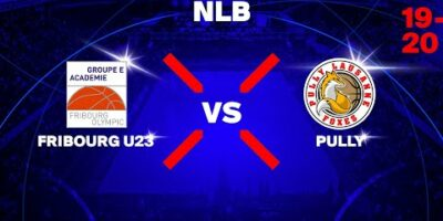 NLB - Day 10: FRIBOURG vs. PULLY LAUSANNE