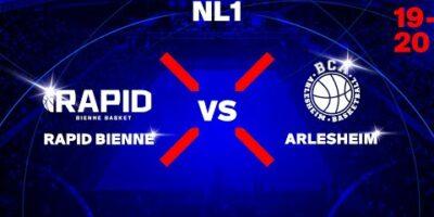 NL1M - Day 11: BIENNE vs. ARLESHEIM