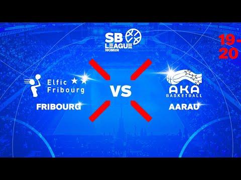 SB League Women – Day 8: FRIBOURG vs. AARAU