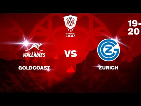 COUPE SUISSE M – Day 1-8: GOLDCOAST vs. ZURICH