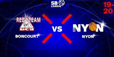 SB League - Day 10: BONCOURT vs. NYON