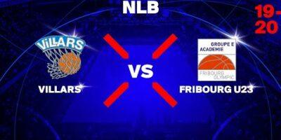 NLB - Day 11: VILLARS vs. FRIBOURG