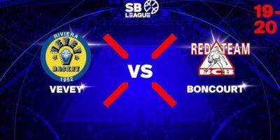 SB League - Day 2: VEVEY vs. BONCOURT