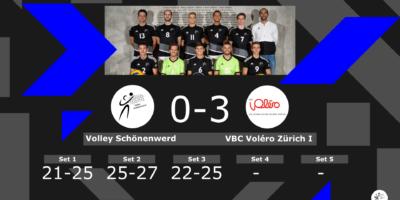 Volley Schönenwerd II - VBC Voléro Zürich