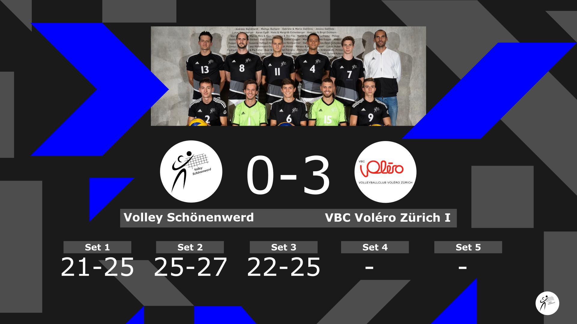 Volley Schönenwerd II – VBC Voléro Zürich