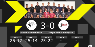 Volley Schönenwerd - Lutry-Lavaux Volleyball