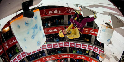 UIAA Ice Climbing World Cup #3 - Lead Semi-Final Women, Saas-Fee