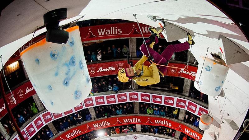 UIAA Ice Climbing World Cup #3 – Lead Semi-Final Women, Saas-Fee