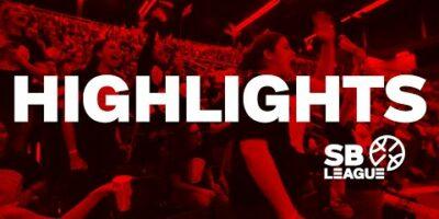🚨SB League - Day 13 HIGHLIGHTS : BONCOURT vs  VEVEY