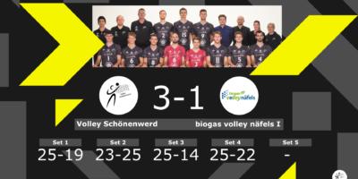 Volley Schönenwerd - biogas volley näfels