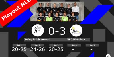 NLB Playout: Volley Schönenwerd II - VBC Wetzikon