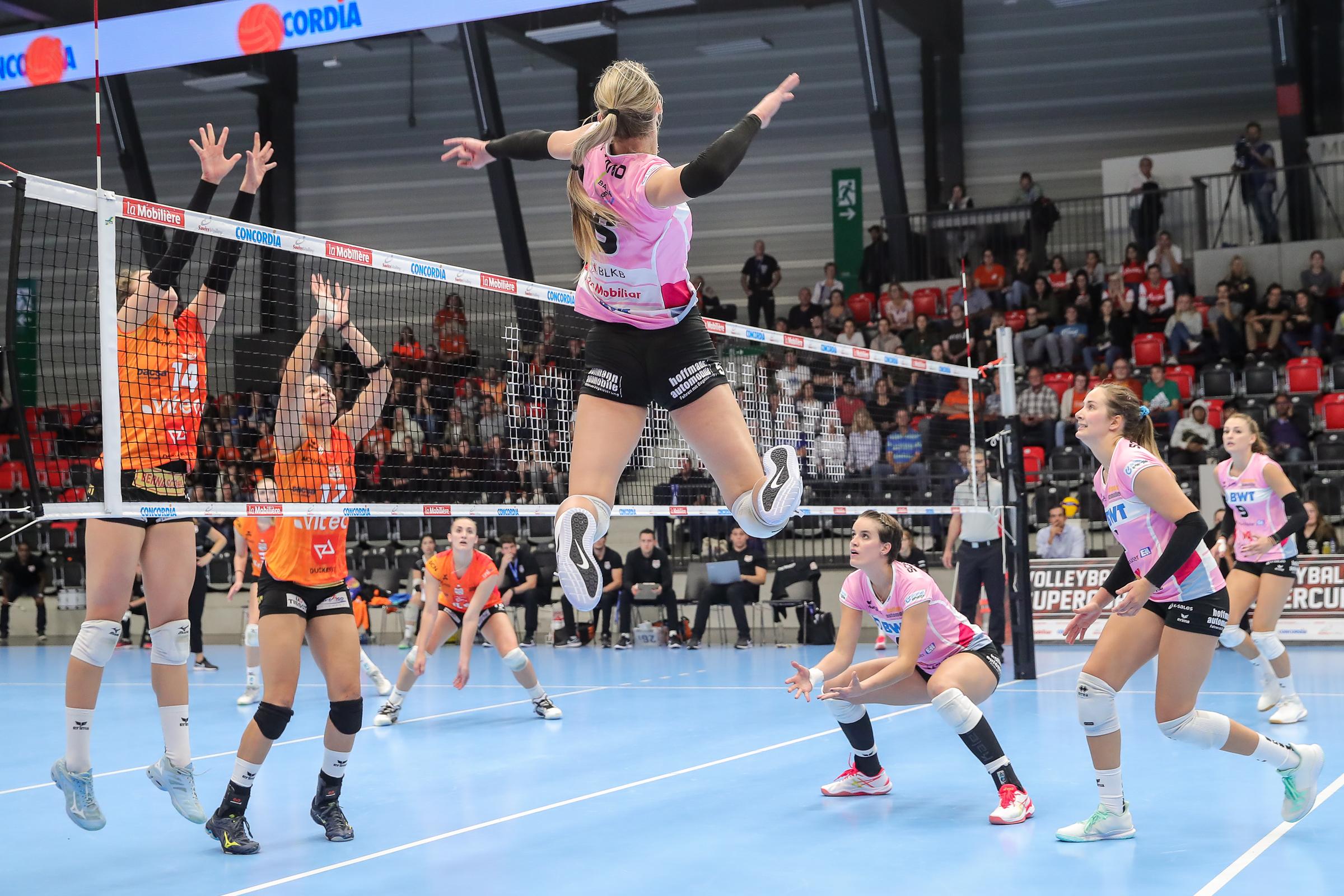 Playoff 1/4-Final, Spiel 3: Sm'Aesch Pfeffingen – Goupe E Valtra