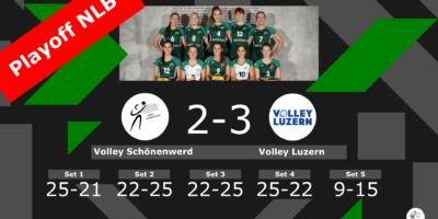 Volley Schönenwerd - Volley Luzern