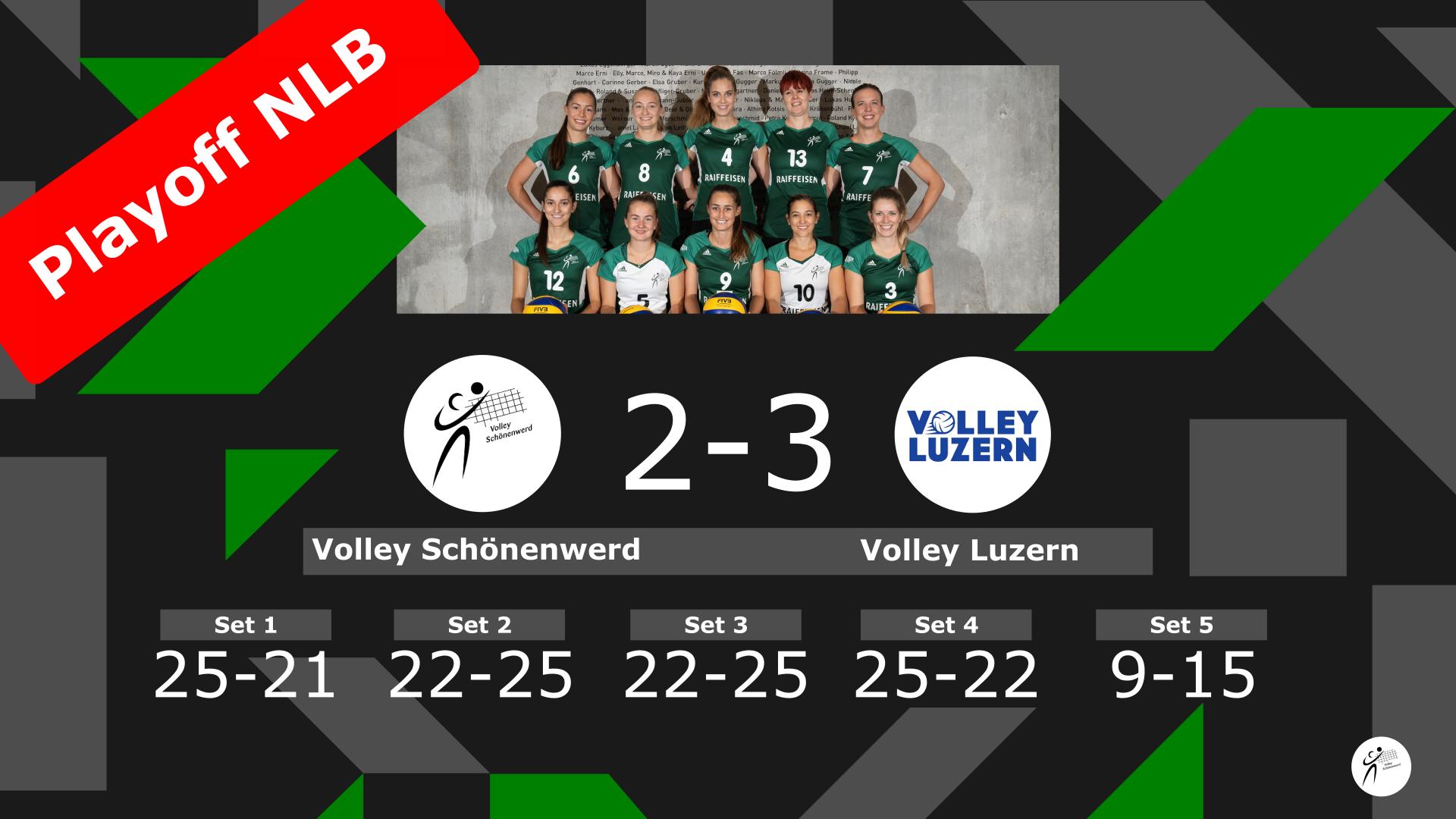 Volley Schönenwerd – Volley Luzern