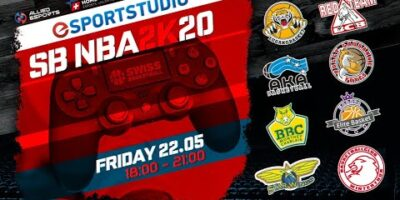 Swiss Basketball NBA 2k20 Tournament