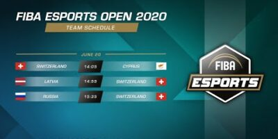FIBA Esports Open 2020 - Russia vs Switzerland