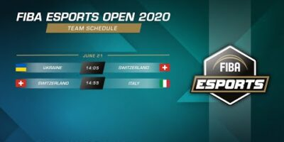FIBA Esports Open 2020 - Ukraine vs Switzerland