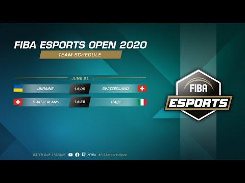 FIBA Esports Open 2020 – Ukraine vs Switzerland