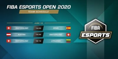 FIBA Esports Open 2020 - Switzerland vs Lithuania