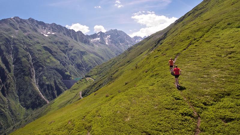 Rheinquelle-Trail, Disentis GR
