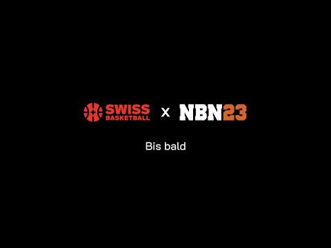 Swiss Basketball X NBN23