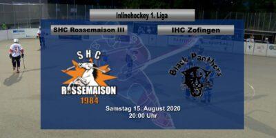 SHC Rossemaison - IHC Zofingen