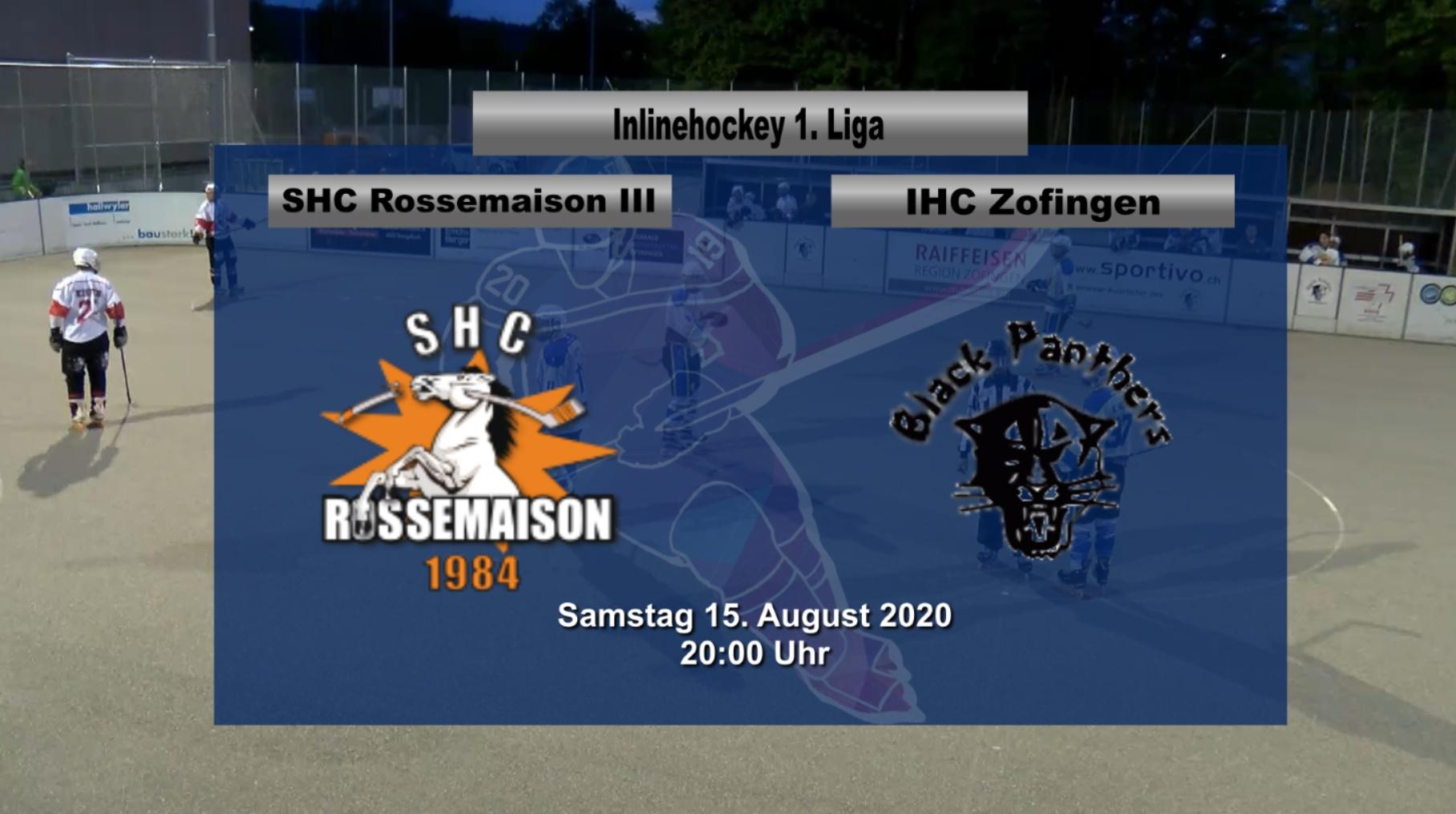 SHC Rossemaison – IHC Zofingen