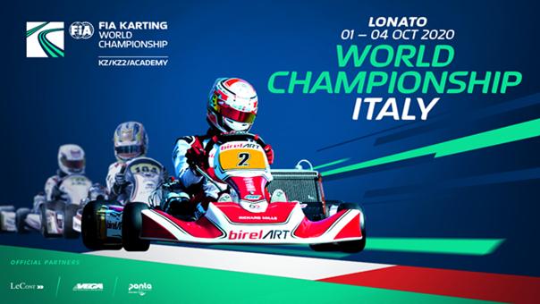 FIA Karting World Championship 2020 KZ/KZ2/Academy Trophy (2. Tag), Lonato (I)