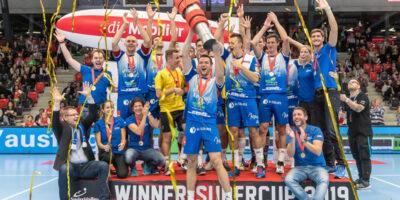 Volleyball Supercup: LINDAREN Volley Luzern - Lausanne UC