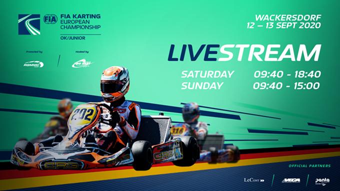 FIA Karting European Championship Junior & OK #3 (2. Tag), Wackersdorf (D)