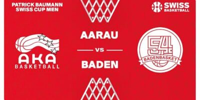 COUPE SUISSE M - Day 1-32: AARAU vs. BADEN