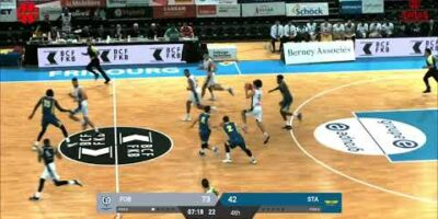 Fribourg Olympic vs. Starwings Basket - Game Highlights