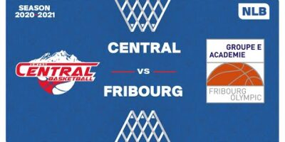 NLB M - Swiss Central Basketball vs. Groupe E Académie Fribourg U23