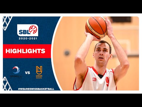 SBL 20/21 Highlights – Spinelli Massagno vs Union Neuchâtel Basket