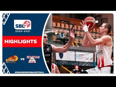 SBL 20/21 Highlights – Lions de Genève vs BC Boncourt