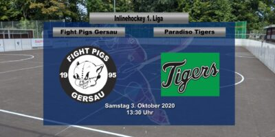 Inline Hockey 1. Liga Herren: Fight Pigs Gersau - Paradiso Tigers