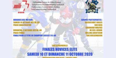Inline Hockey Novizen Finale, La Neuveville