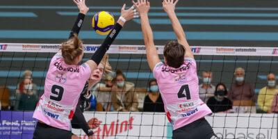 Volleyball NLA Damen: Sm'Aesch Pfeffingen - VC Kanti Schaffhausen