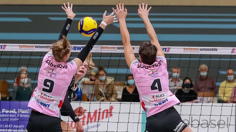 Volleyball NLA Damen: Sm'Aesch Pfeffingen – VBC Cheseaux