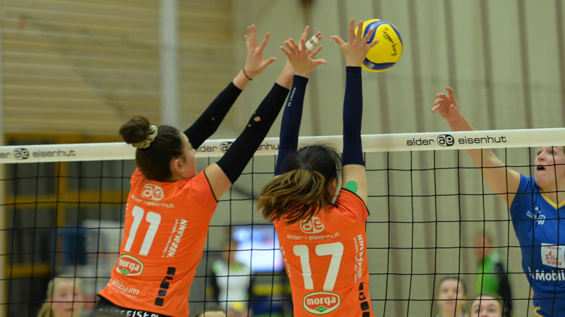 Volleyball NLA Damen: Raiffeisen Volley Toggenburg – Volley Lugano