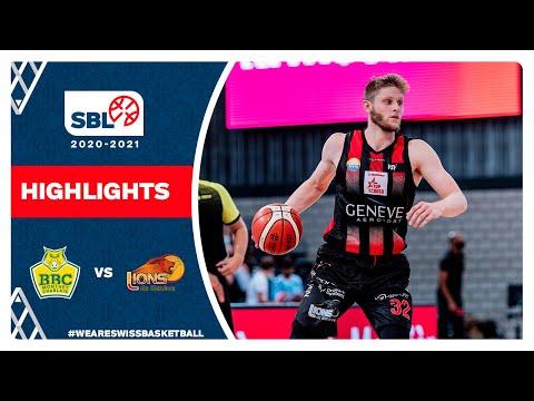 SBL 20/21 Highlights – BBC Monthey-Chablais vs Lions de Genève